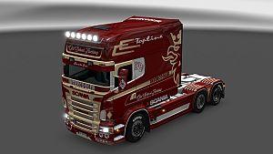 Scania RJL Old School Trucking skin