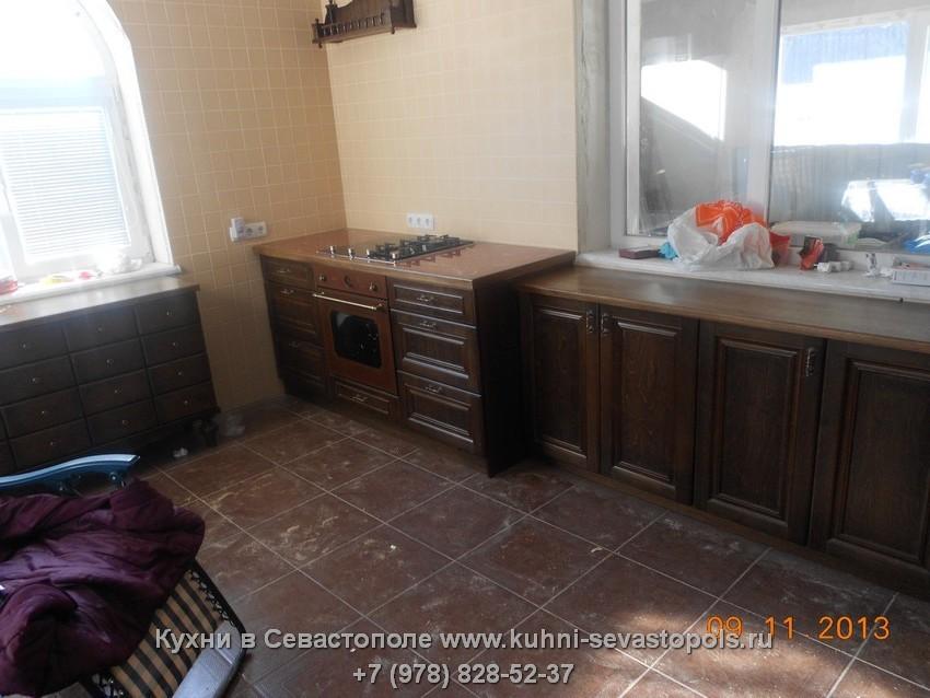 Купить деревянную кухню Севастополь