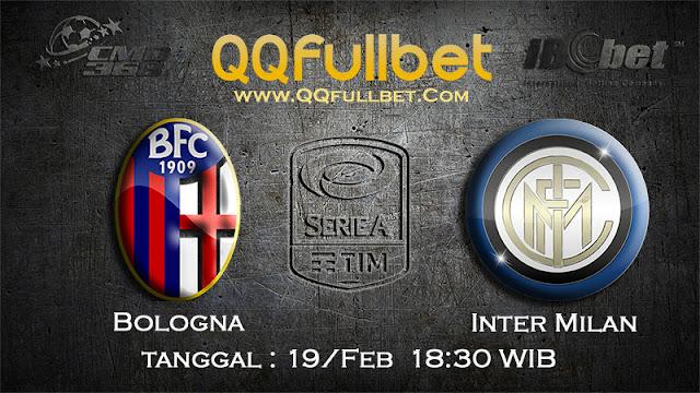 PREDIKSIBOLA - PREDIKSI TARUHAN BOLOGNA VS INTER MILAN 19 FEBRUARY 2017 (SERIE A ITALIA)