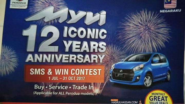 Kontest Lumayan Untuk Pemilik Kenderaan Perodua