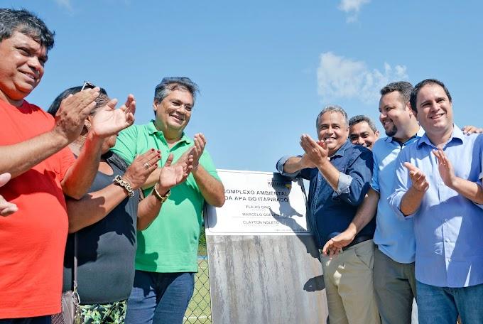 Flávio Dino entrega APA do Itapiracó, maior espaço público de convivência e lazer do Maranhão