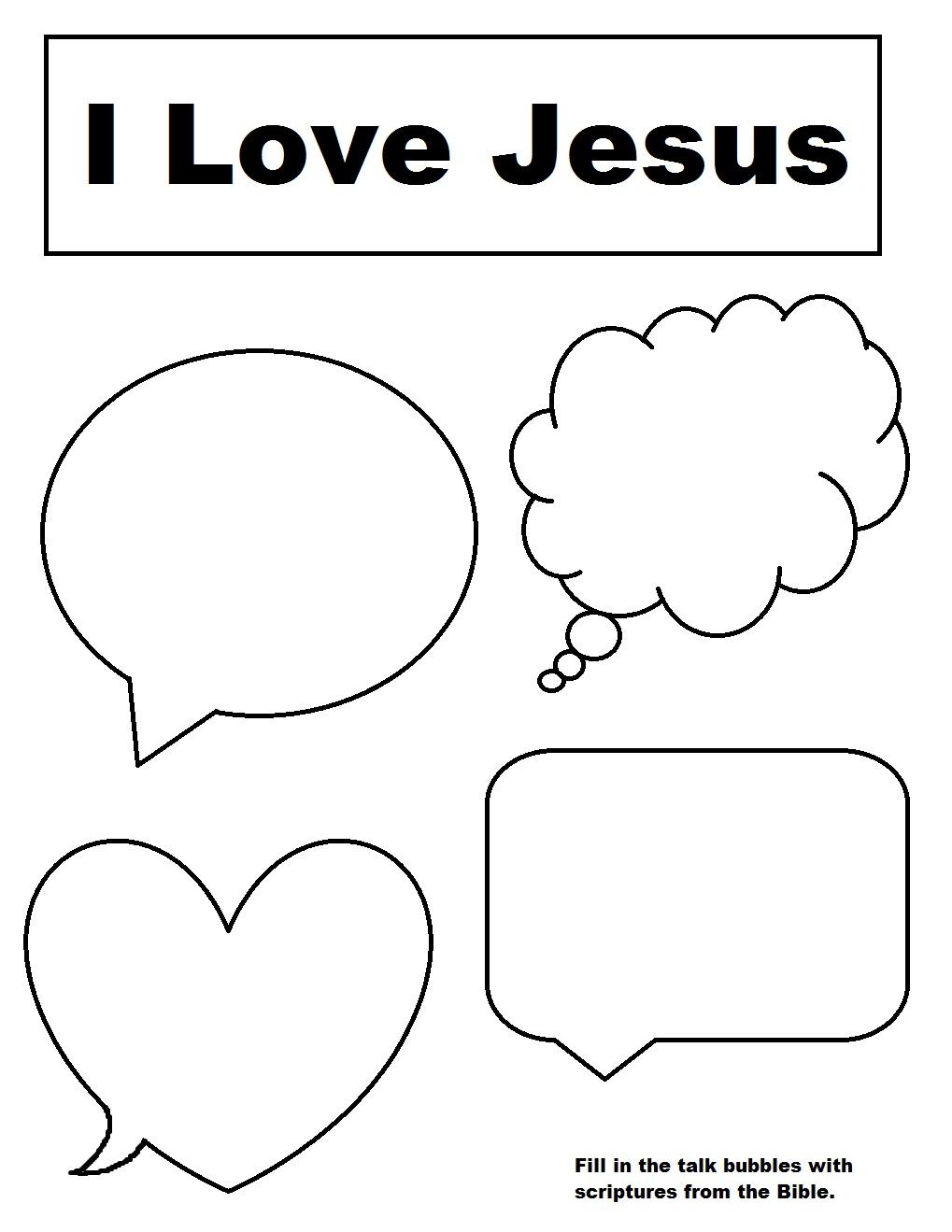Church House Collection Blog: Talk Bubble Scripture