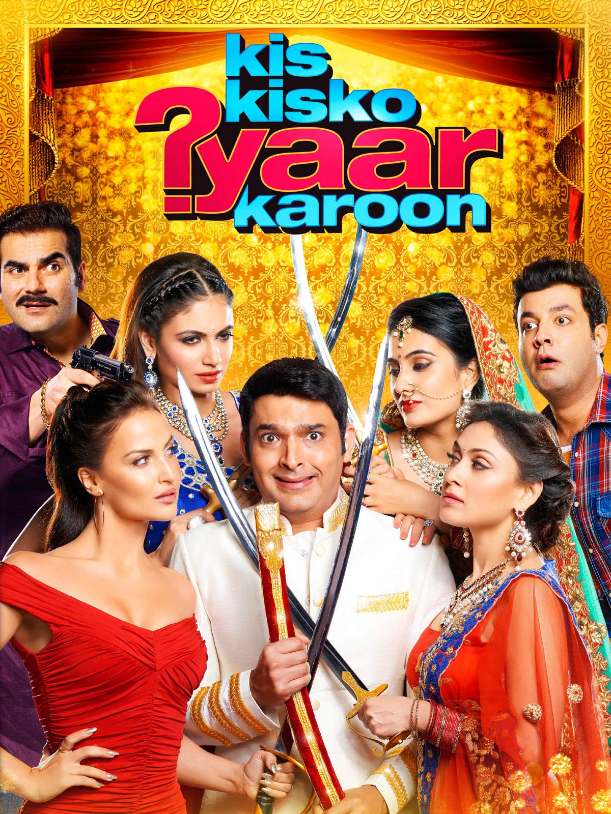 Kis Kisko Pyaar Karoon (2015) Hindi 720p WEB-DL 1.1GB ESubs Free Download