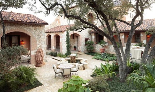 Desain Taman Klasik Dan Tradisional Rumah Minimalis