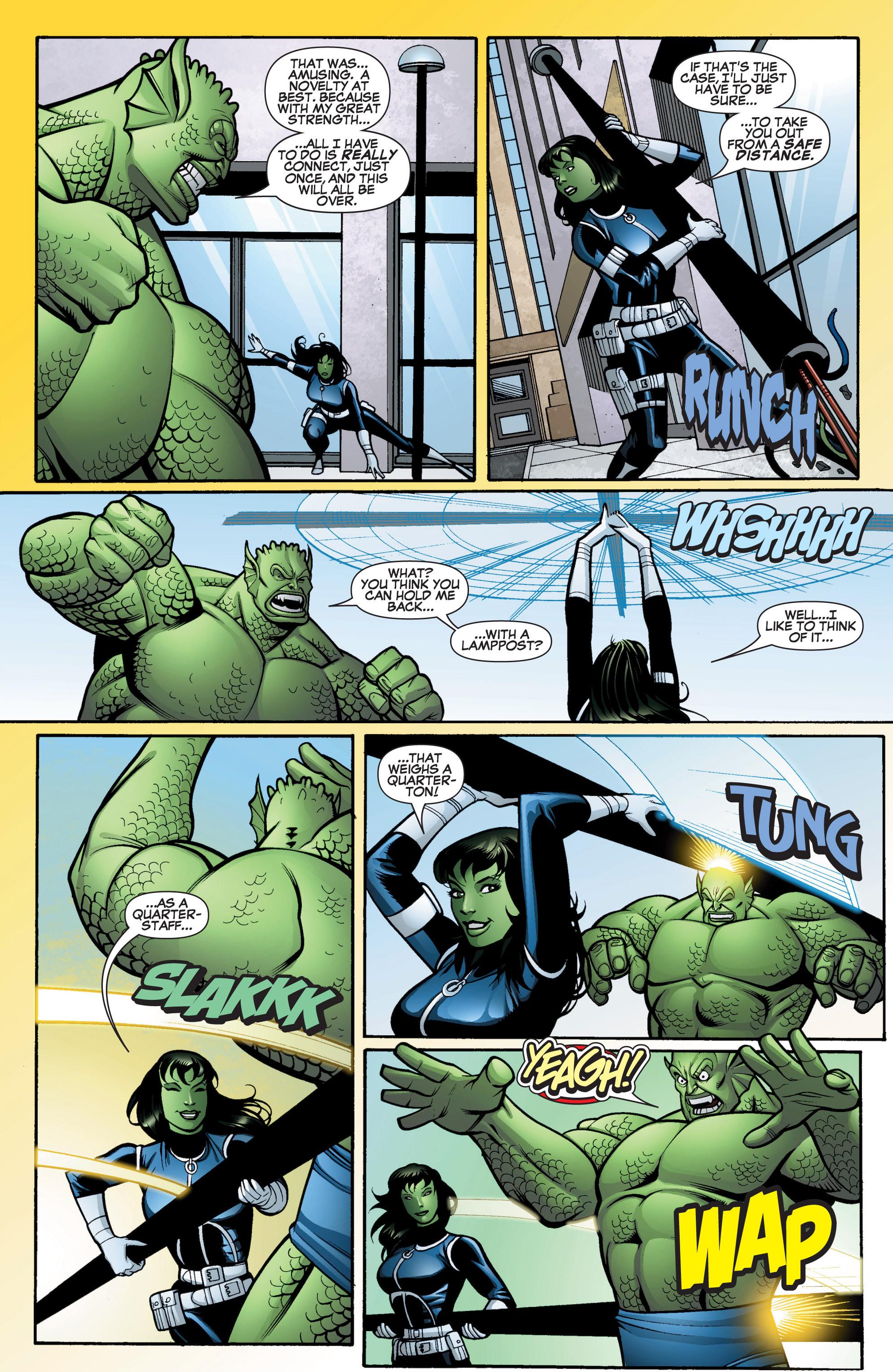 Read online She-Hulk (2005) comic -  Issue #15 - 16