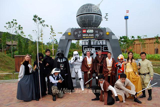 Malaysia Lego Star Wars Miniland