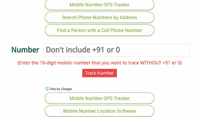 Trace Any Mobile Number Location In India By Third Party Website - GoTechForum