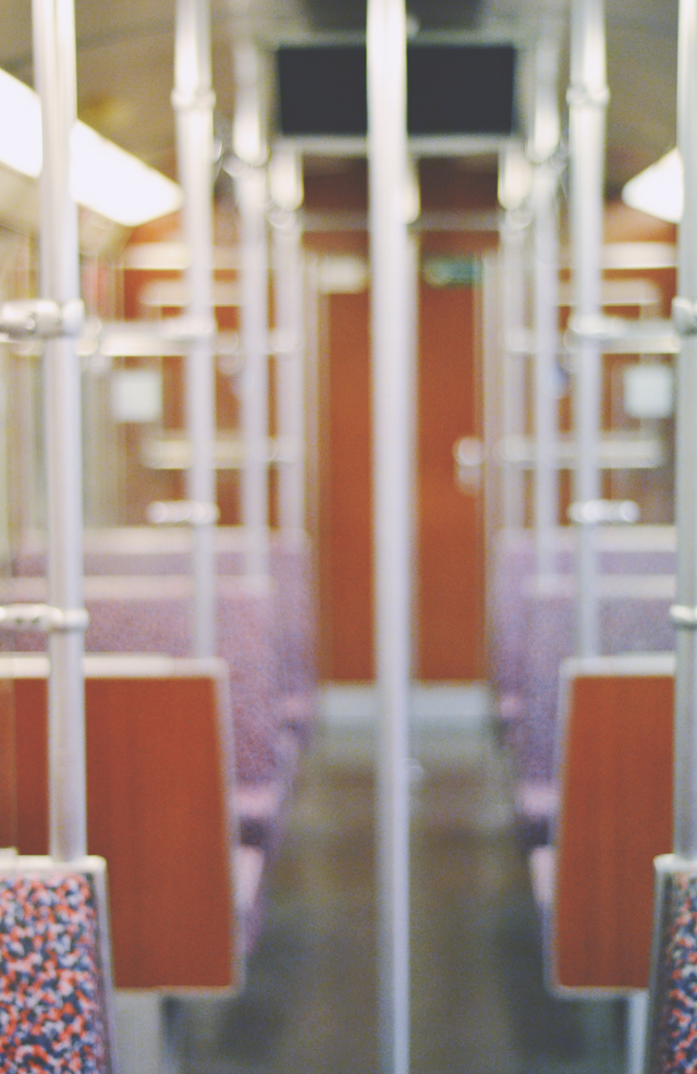 S-Bahn carriage interior
