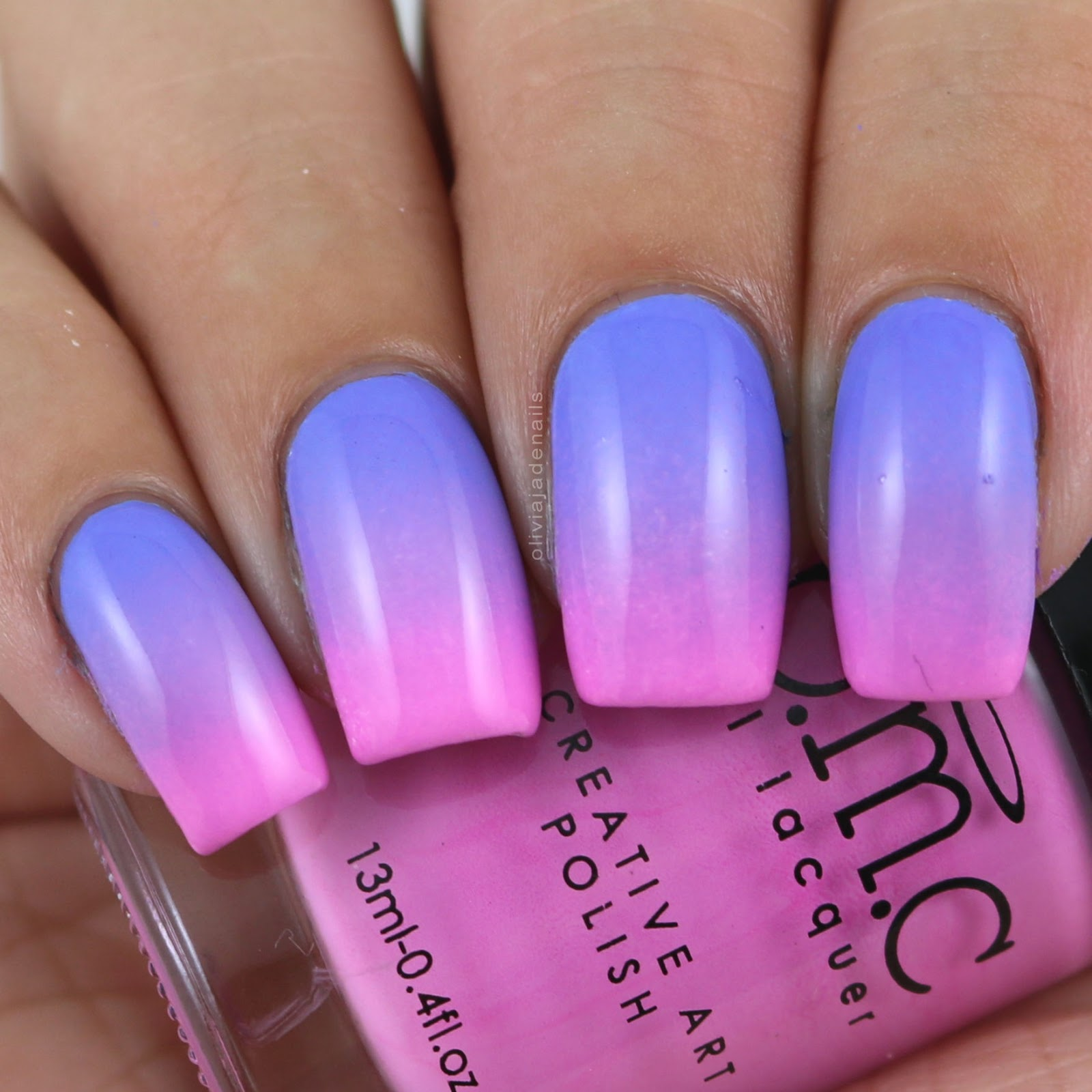 Olivia Jade Nails: Challenge Your Nail Art: Gradient meets 30 Days ...