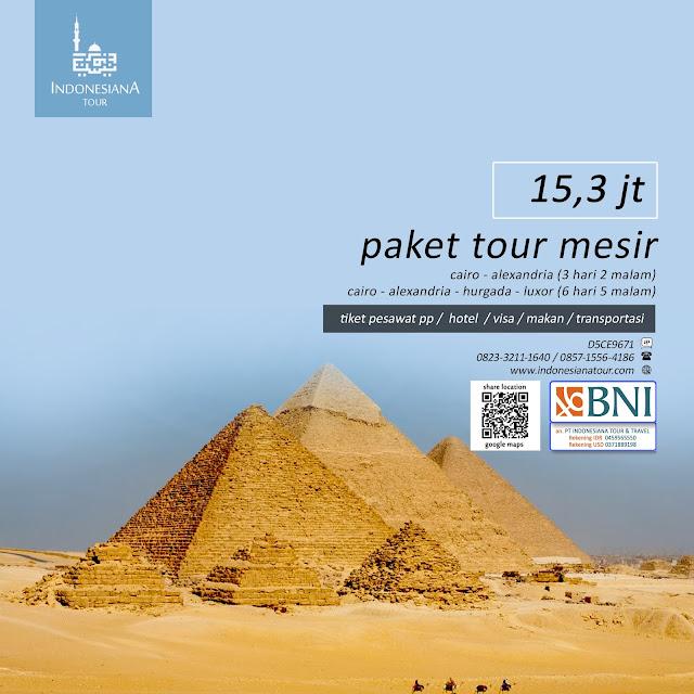 PAKET TOUR MESIR CAIRO - ALEXANDRIA