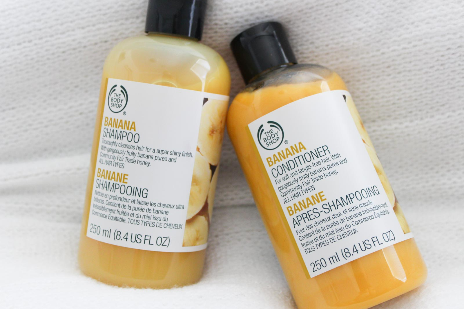 The Body Shop Banana Shampoo & Conditioner | Cate Renée