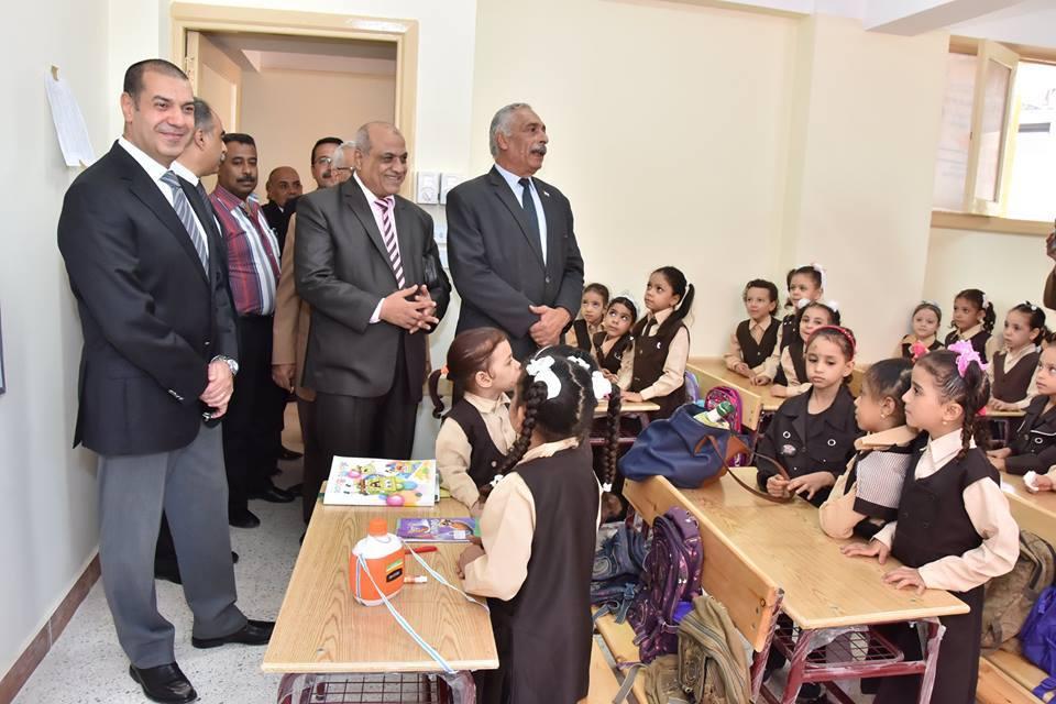 انتظام 966 الف طالب وتلميذ في 2718 مدرسة باسيوط