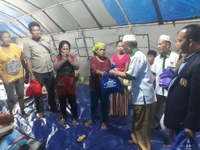 Baznas dan PWI Tulang Bawang Salurkan Bantuan Bagi Korban Banjir