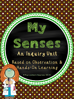 Senses - Primary Unit - Inquiry - Hands-On Learning