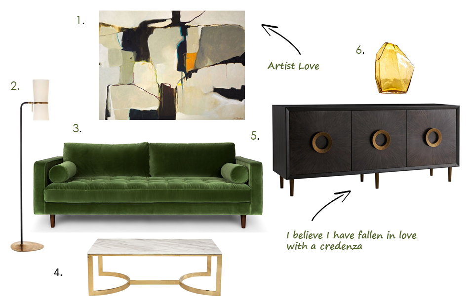 Friday Furniture Fix With Green And Gold Verdigris Vie