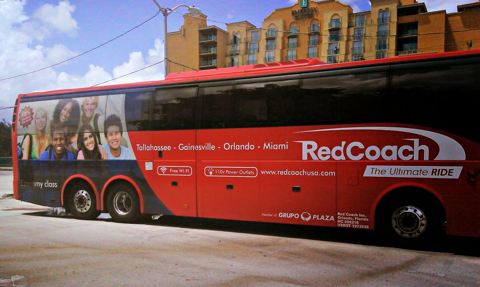 Florida's Luxury Busline RedCoachUSA