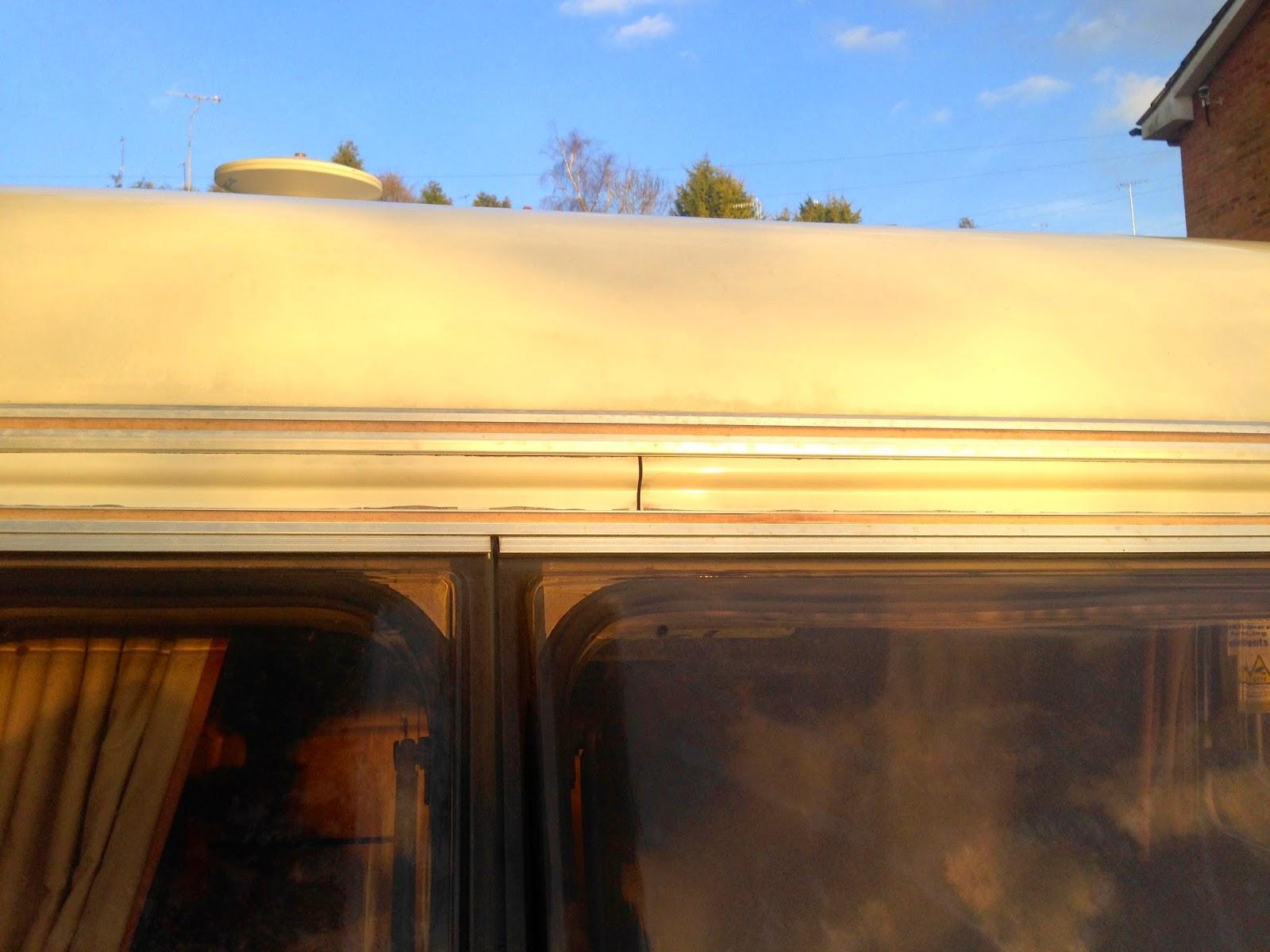 Caravan Damp Repair - Elddis Elusion 350/2 from 1994: My Blog of