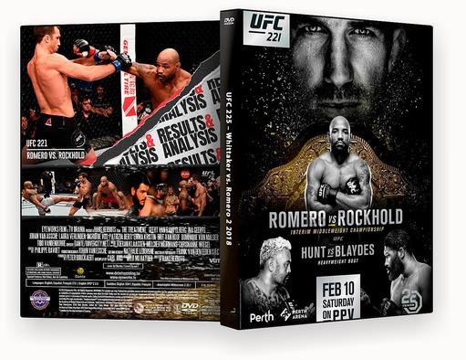 UFC 225 Whittaker vs. Romero 2 – CAPA DVD