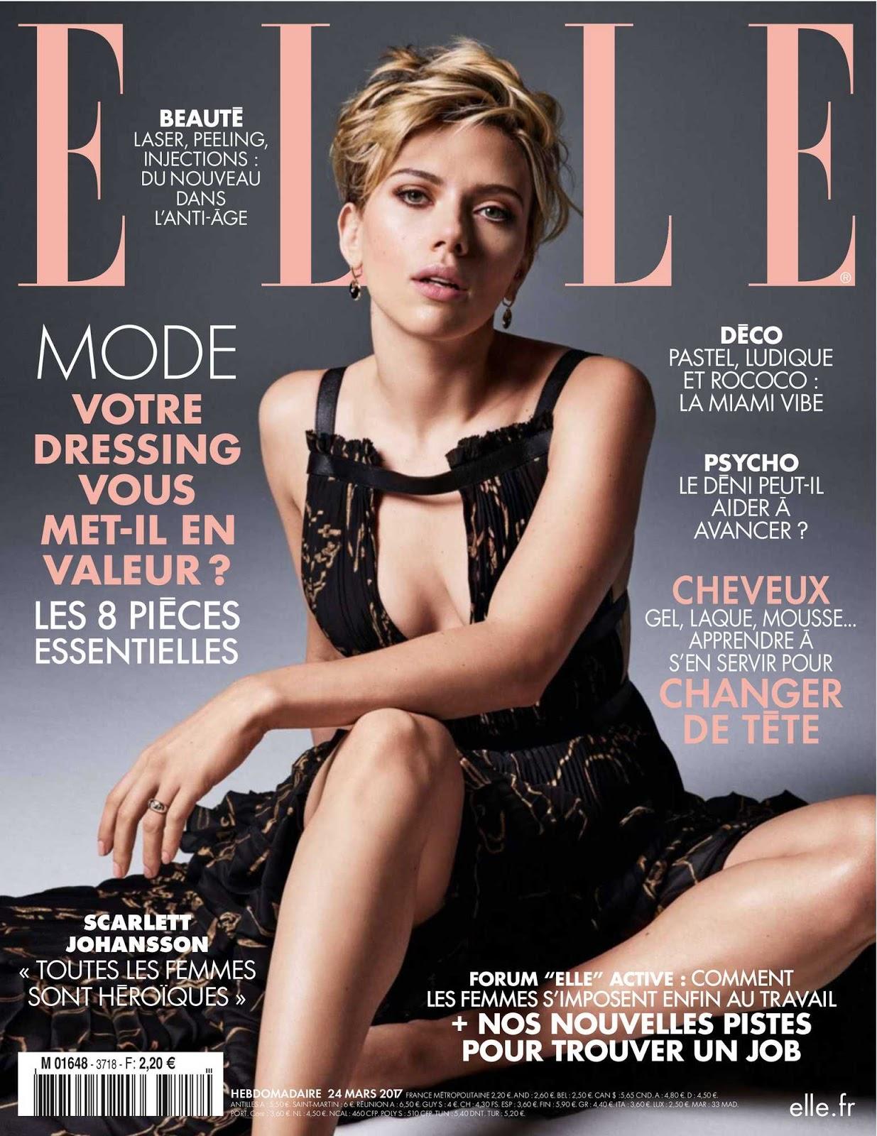 2017 Scarlett Johansson Hot