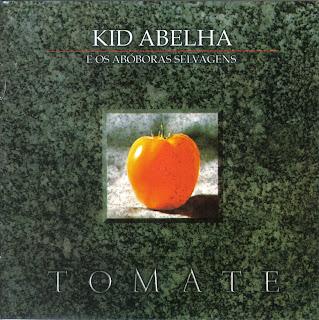 Capa do disco Tomate, lançado em 1987 pelo grupo Kid Abelha