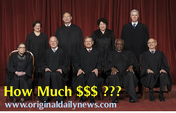 How Much Money Does a Supreme Court Justice Make