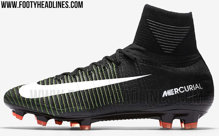 7b4098d1cfca Nike Mercurial Superfly V - Black / Electric Green / White