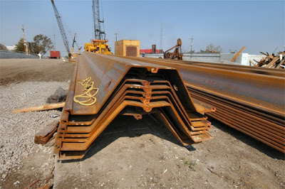 type III steel-sheet-pile