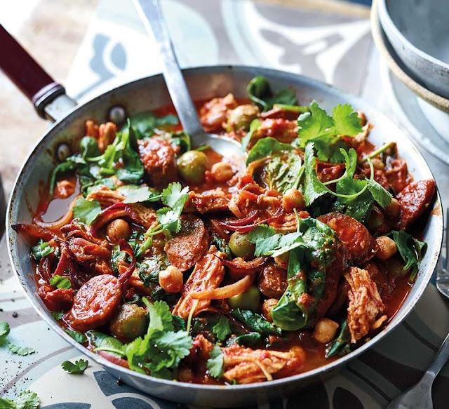Spicy North African Turkey Stew Recipe