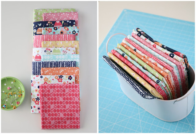 Trish and Birdie fabric by Deane Beesley for Sweet Bee Designs
