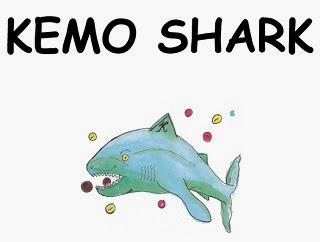 Image: Kemo Shark printable comic book