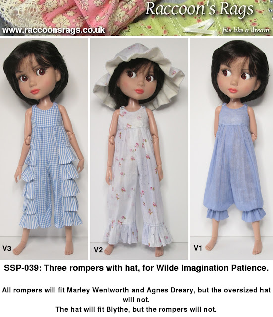 Patience sewing pattern