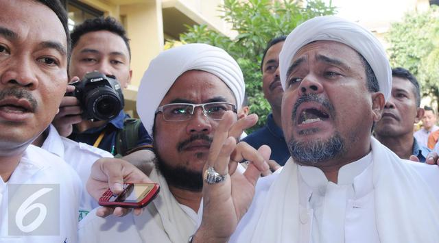 Habib Rizieq: Janganlah Kita Saling Lapor Dugaan Penistaan