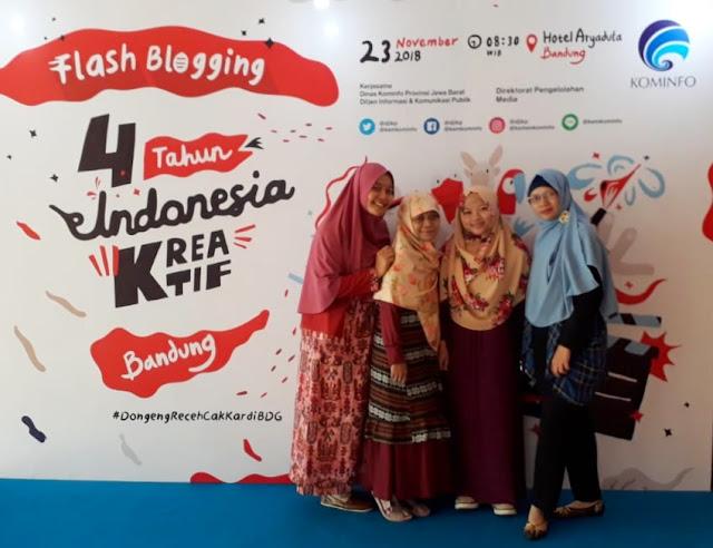 4 Tahun Indonesia Kreatif, Kreativitas Untuk Nilai Tambah