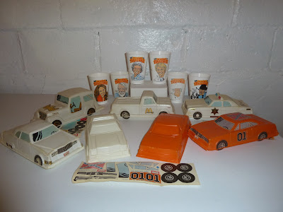 The Complete McDonald's Dukes of Hazzard Happy Meal Collection
