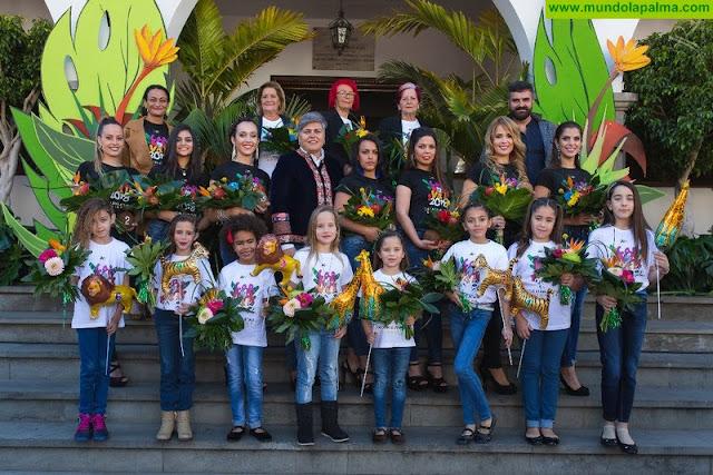 Presentación oficial candidatas a Reinas del Carnaval de Los Llanos de Aridane