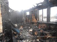 (ФОТО)Пожар в поселке Алтынай