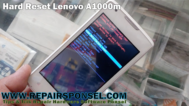Hard Reset Lenovo A1000m