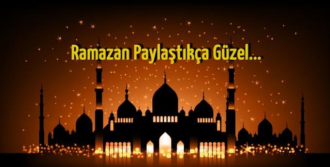 Tüm İslam Aleminin Ramazan Ayı Mübarek Olsun...