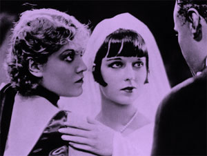 Alice Roberts as the Countess Geschwitz with Louise Brooks in G.W. Pabst's Pandora's Box (1929)#