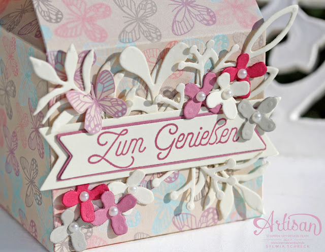 Leckereien Box Stampin Up Verpackung
