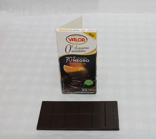 Chocolate negro 70% Naranja 0% azúcares añadidos - Valor