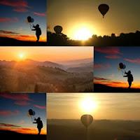 imagens de balões subindo
