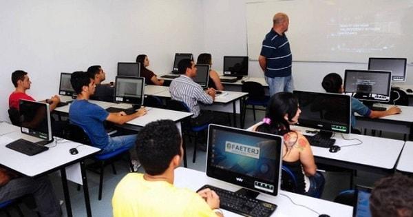 Faetec abre mais de 1.600 vagas em cursos profissionalizantes gratuitos
