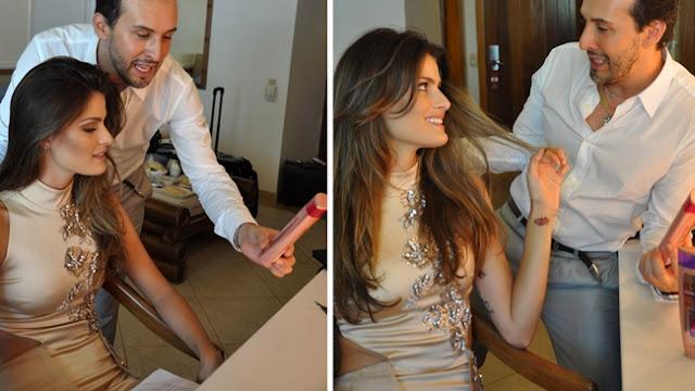 L'Oreal Elseve Quera-Liso x Isabeli Fontana