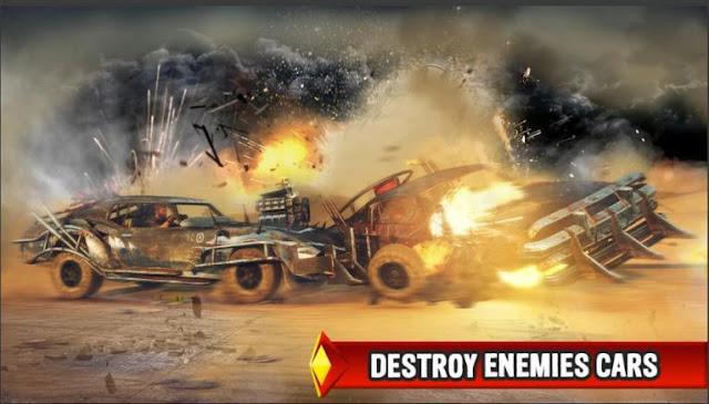 Game Balap Mobil Offline Terbaik Mad Death Race MOD APK