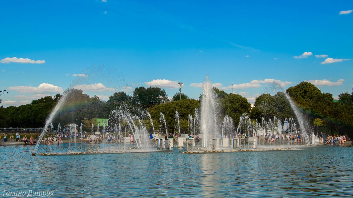 Парк Горького фонтан фото