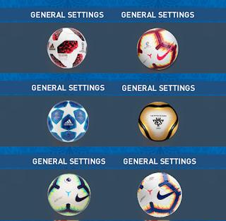 PES 2017 Balls Pack v4 For 2018-2019