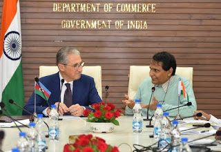 India-Azerbaijan sign protocol on trade and economic cooperation