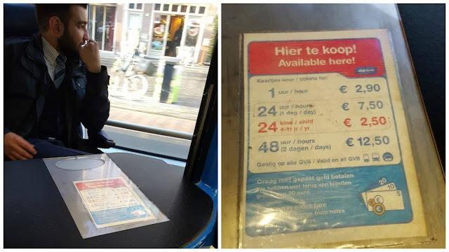 precios billetes transporte amsterdam