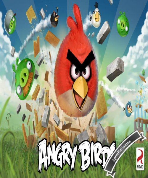 Angry Birds Cover, Poster